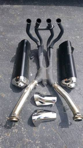 Suzuki Stock Hayabusa Exhaust