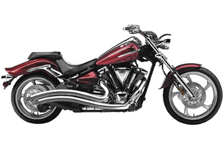 COBRA Speedster Swept Exhaust for YAMAHA Raider XV1900C(08-15) & XV1900C SCL(12-14) & XV1900CS S(08-15) - #2225