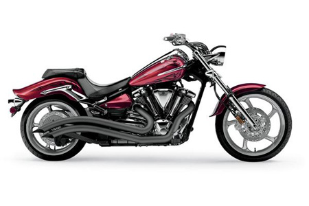 COBRA Speedster Swept Exhaust for YAMAHA Raider XV1900C(08-15) & XV1900C SCL(12-14) & XV1900CS S(08-15) - #2225B