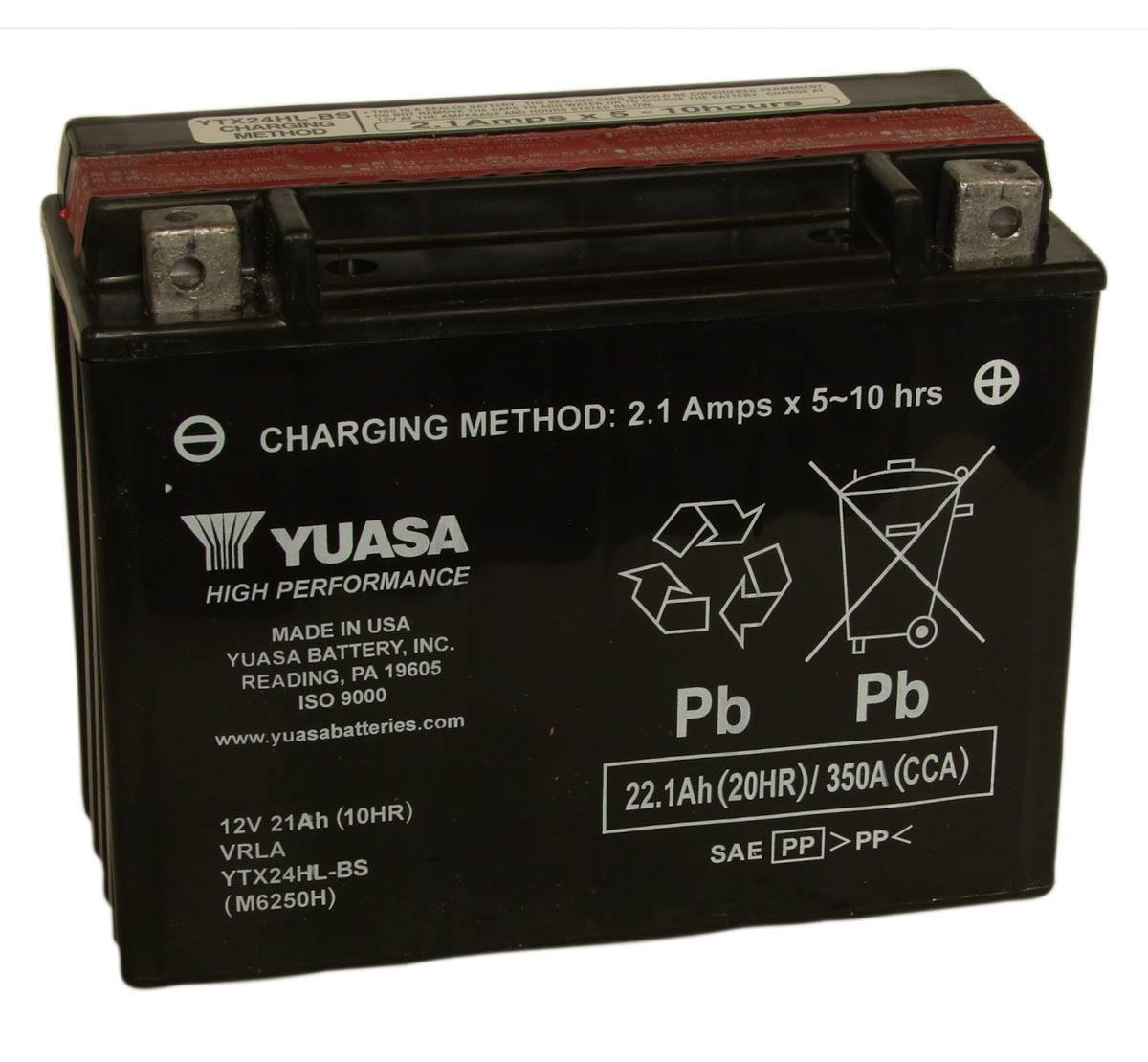 YUASA - Battery - YTX24HL-BS (USA)