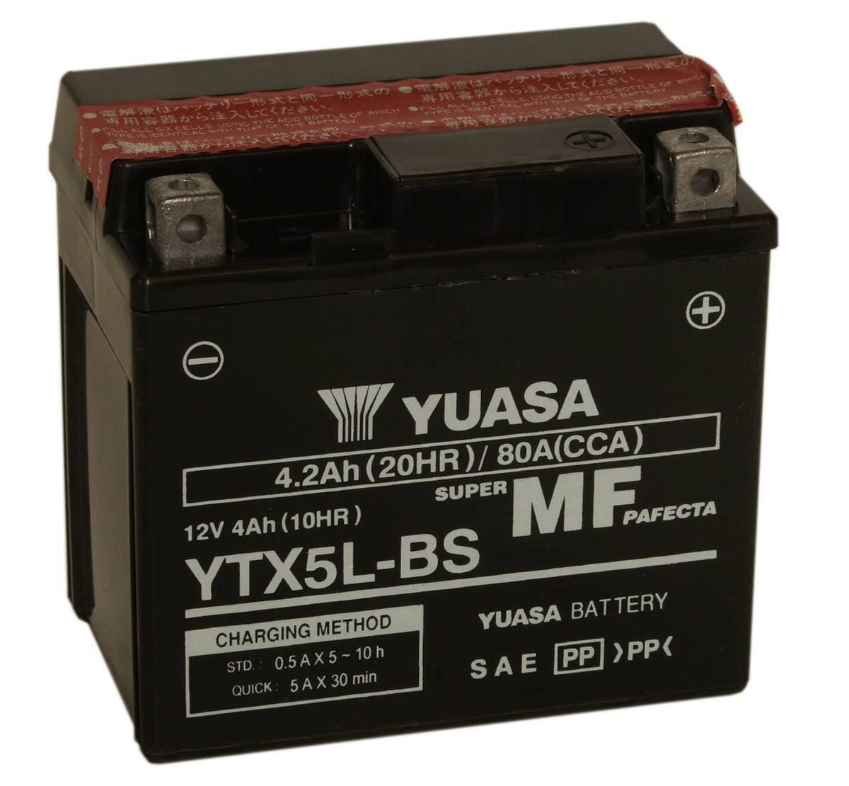 Get it delivered to your door - Yuasa YTX5L-BS (Taiwan) - 480 (EGP)