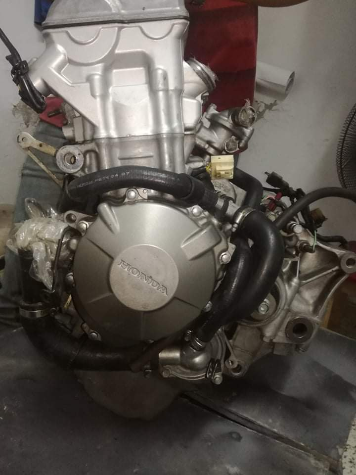 Honda CBR 600RR Engine